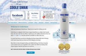Coole Swan Christmas Homepage