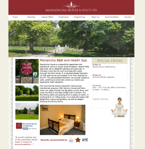 Monaincha House Website