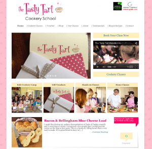 The Tasty Tart Homepage
