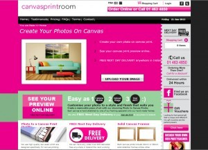 Canvasprintroom