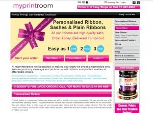 Myprintroom Website