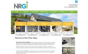 New Ross Glass and Insulation website