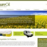 Pure Oil Website
