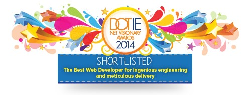 Net Visionary Awards Shortlisted Badges-The Best Web Developer for ingenious engineering and meticulous delivery