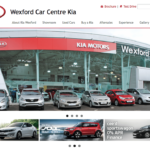Kia Wexford Website