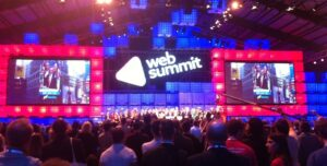 Web Summit 2014 Nasdaq Bell