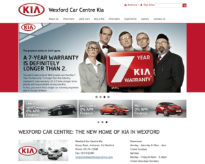 New Website for Wexford Car Centre
