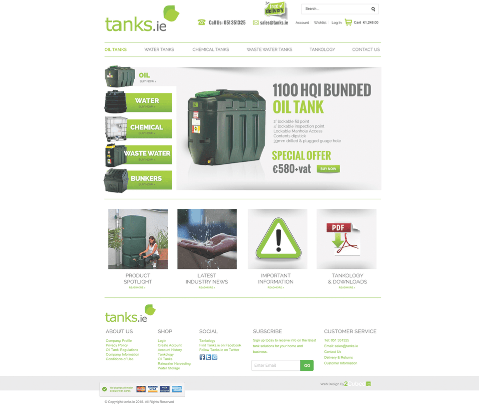 Tanks Homepage