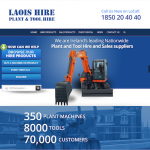 Laois Hire Website