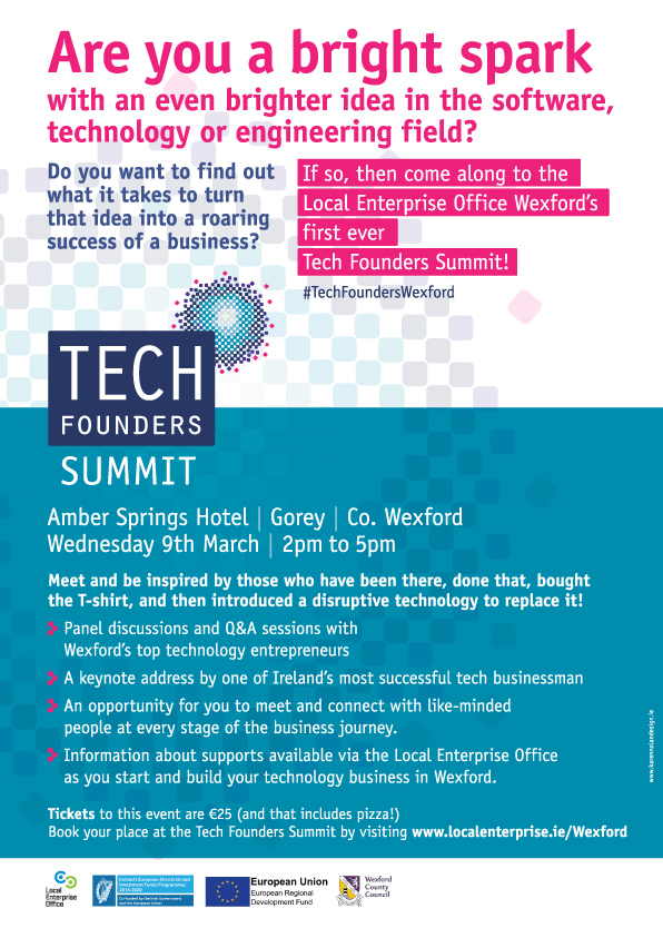 Tech Founders Summt web poster