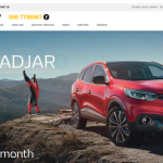 Renault Ireland Garages Website
