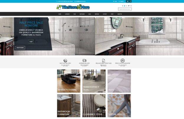 Tile Store N' More Website