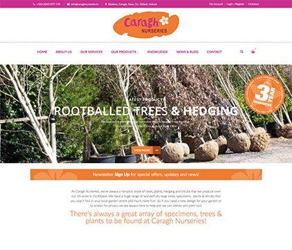 Caragh Nurseries Website