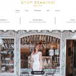 stop staring website design