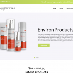 Advanced Skinshop Website Design