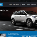 Gowan Motors Leasing website design