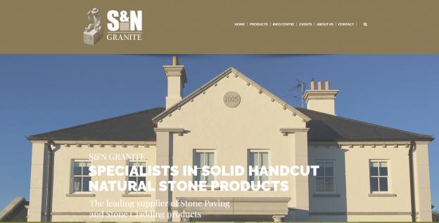 S & N Granite Website