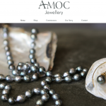 Amoc Jewellery Website Design