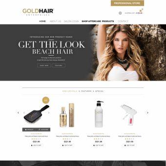 Gold Hair