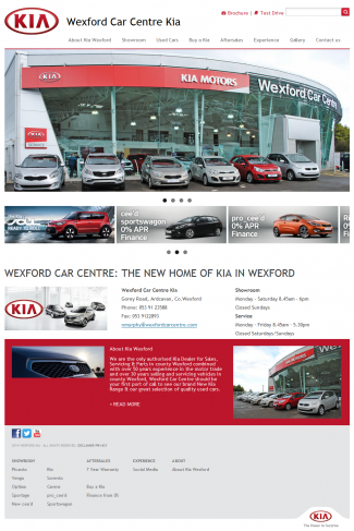 Wexford Car Centre Kia